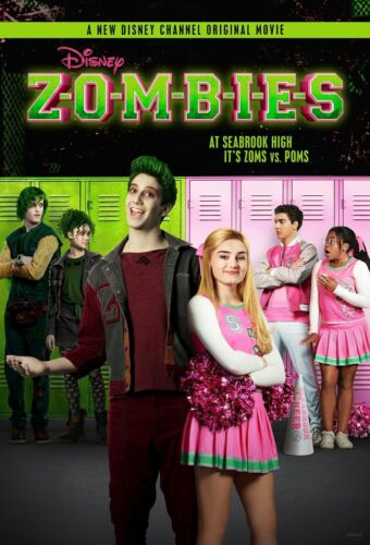 2018 Movie Zombies Disney Channel TV Musical Custom Hot Poster 24x36 30x45 D-27