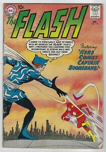 Flash-117-1960-DC-1st-App-Captain-Boomerang-Suicide-Squad-Infantino-G-VG