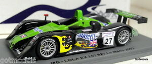 Spark-1-43-Scale-SCMG06-MG-LOLA-EX-257-Le-Mans-2002-27-Resin-Model-Car