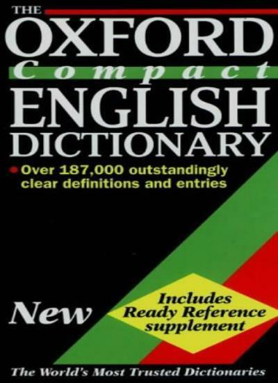 The Oxford Compact English Dictionary By Della Thompson