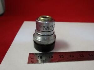 BAUSCH-LOMB-OBJECTIVE-8X-OPTICAL-MICROSCOPE-PART-OPTICS-AS-PICTURED-amp-AM-A-21