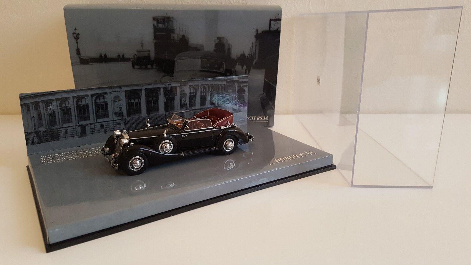 Minichamps - Horch 853 A Sport Cabriolet 1938 Noire (1 43)