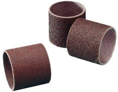 1-1//2 Diameter x 1-1//2 Width 60 Grit 3M Cloth Band 341D Pack of 100 Brown