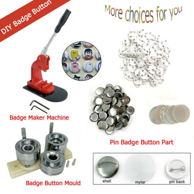 25mm Buttonfab G Series Button Badge Machine 25mm Mach 100 Components