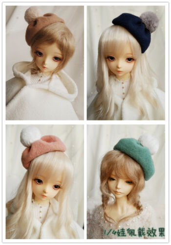BJD Doll 1/3 1/4 1/6 Figure Doll Accessories Ball top Hat Hair hoop Headwear Be
