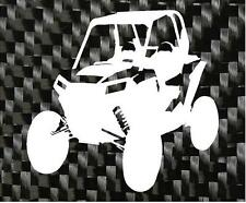 Polaris Razor Silhouette Decal RZR 4X4 NEW ITEM ***AVAILABLE IN 20 COLORS***