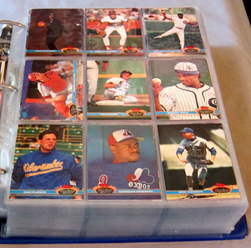 1991 Topps Stadium Club Baseball Series 1 & 2 Full Set of 600 Cards + +