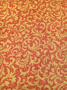 Vintage-Wallpaper-Red-and-Gold-Swirl-Acanthus-Small-Print-by-Motif