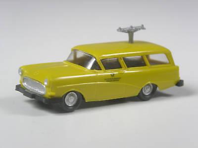 TOP Wiking Werbemodell Opel Olympia Caravan Bundespost