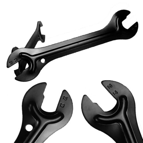 MTB BIKE  OPEN END AXLE HUB CONE WRENCH SPANNER BICYCLE REPAIR TOOL OPULENT
