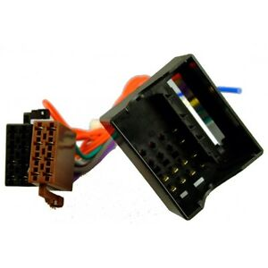 image is loading peugeot partner te 08 13 iso adaptor lead