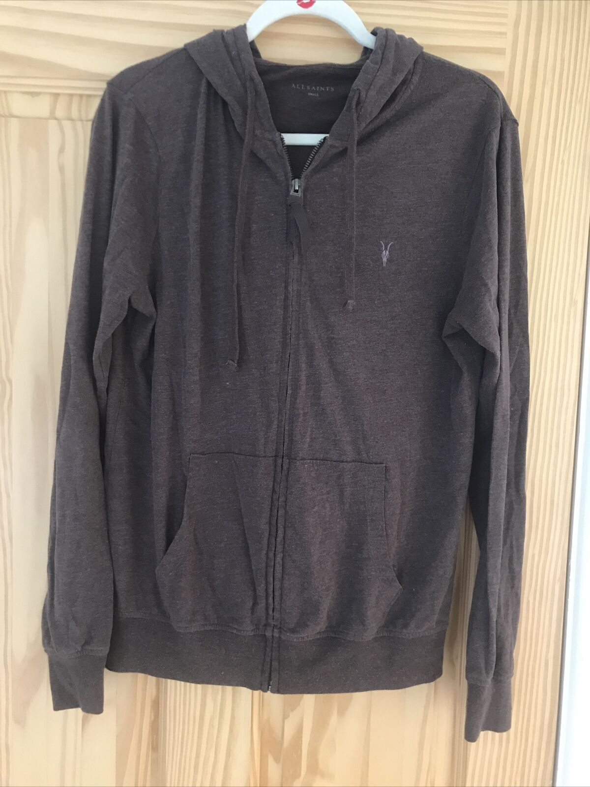 Mens All Saints Hoody Size Small