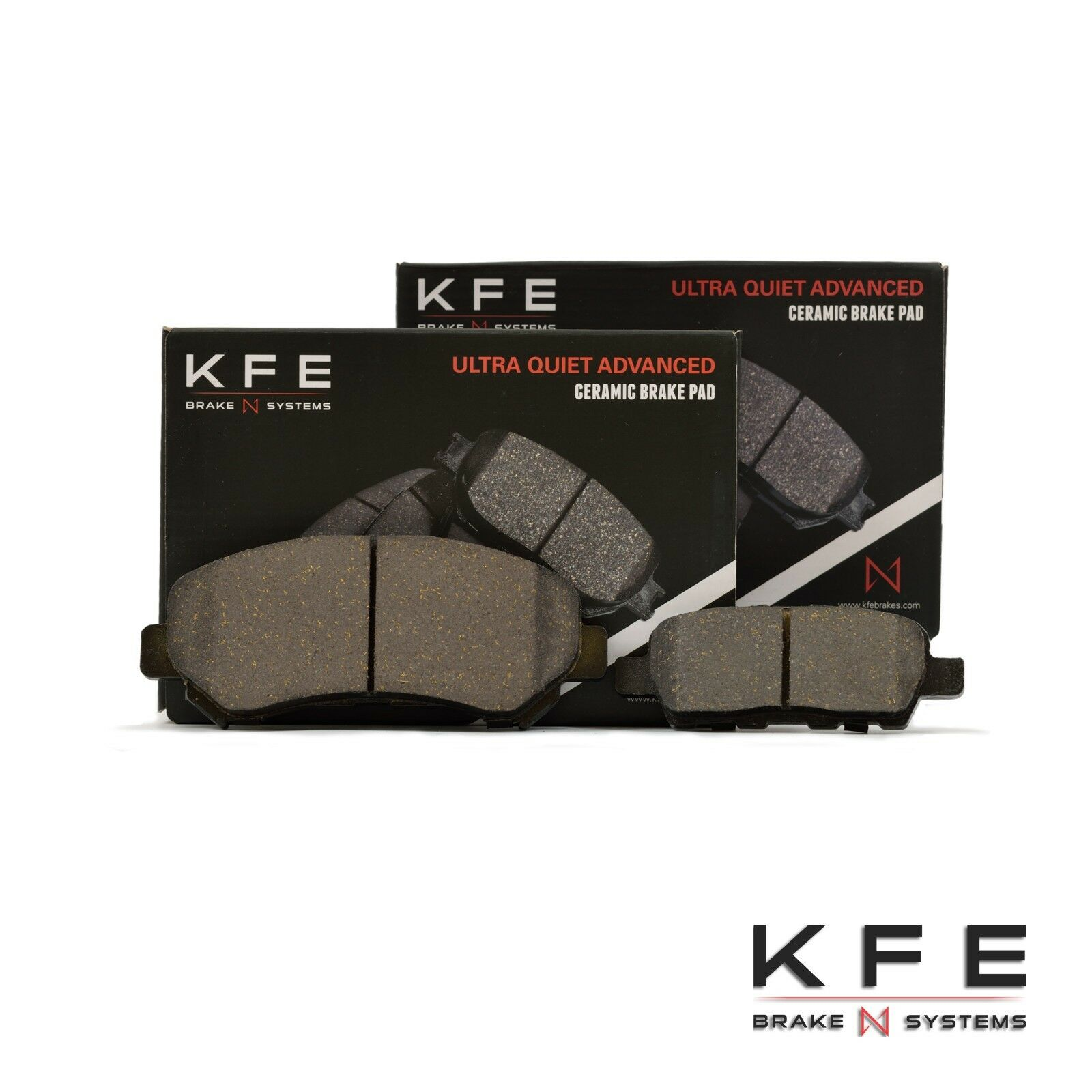 Premium Ceramic Disc Brake Pad FRONT Set Fits Nissan Maxima Rouge Select KFE1338