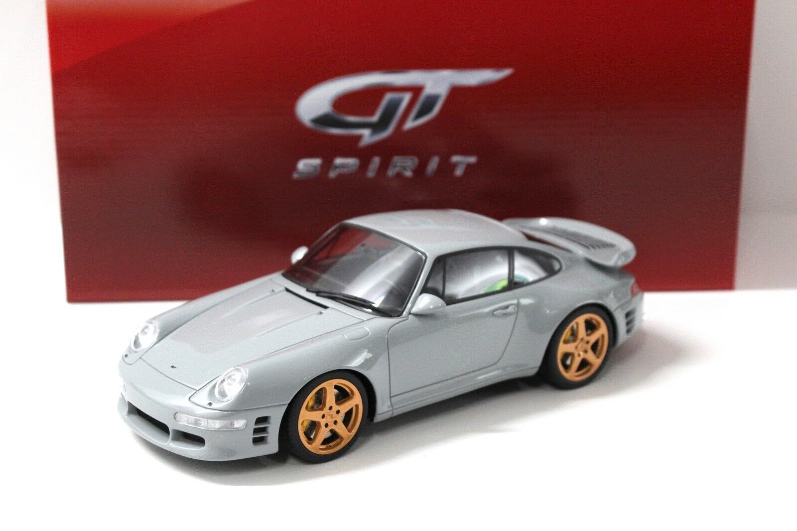 1 18 GT Spirit Porsche 911 993 Ruf TurboR grau NEW bei PREMIUM-ModelllAutos