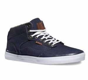 a79b45a236 Image is loading VANS-Bedford-Suiting-Clash-Parisian-Blue-Skate-Shoes-