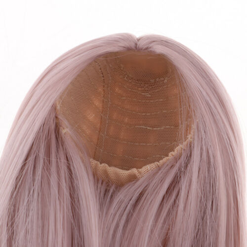 31.5 cm Human Hair DOLL WIG size 12.4 Long red-brown hair. DISCOUNT 50/%