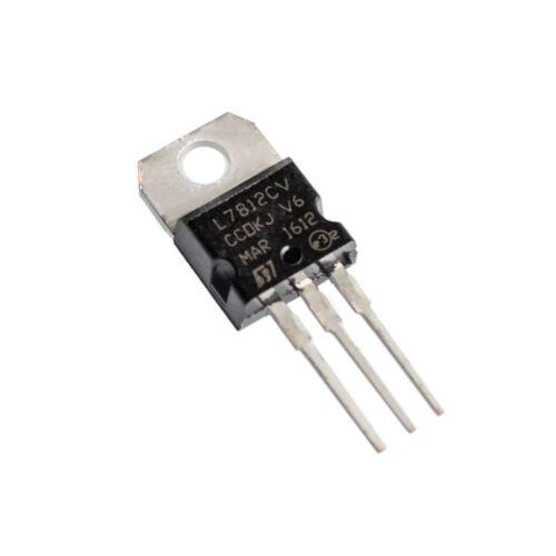 5x L7812CV Positive Voltage Regulator12V1ATO-220