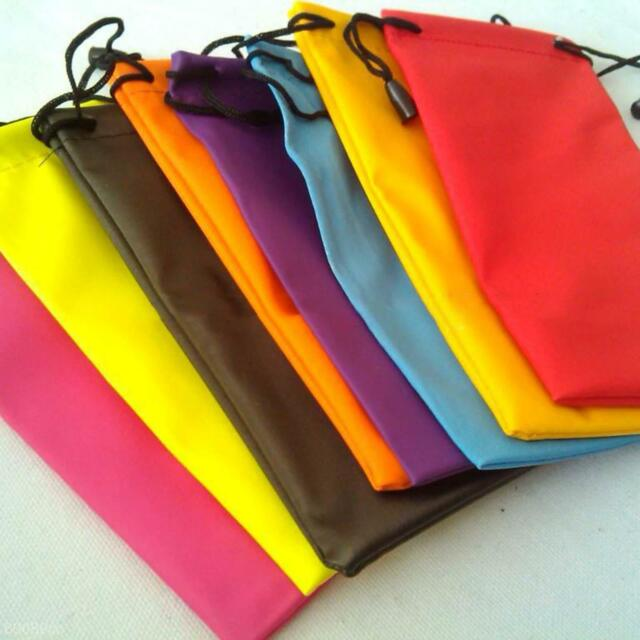 Soft Waterproof Pouch Bag Case for Glasses Cellphone MP3 Camera Jewelry Random