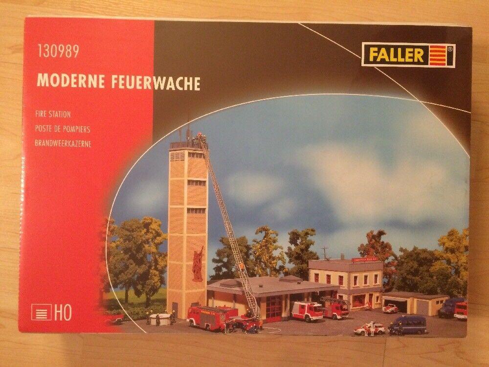 Faller 130989 Moderne Feuerwache H0 Neu Neu Neu & OVP  | Sonderpreis  0f9d02