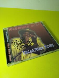 ALABAMA-MIKE-Tailor-Made-Blues-CD-SIGNED-RARE-EX-Free-Ship