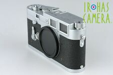 Leica M3 35mm Rangefinder Film Camera In Silver #9815D1