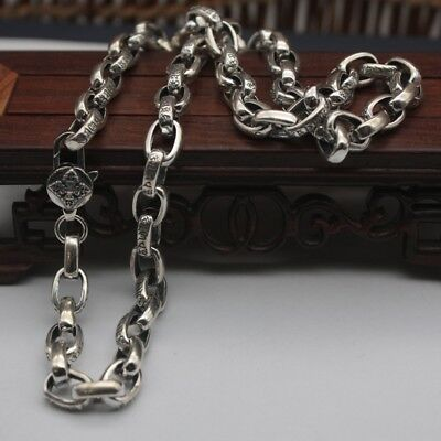 18 inch 925 Sterling Silver Necklace 0.8mm Snake Link Chain Necklace S925