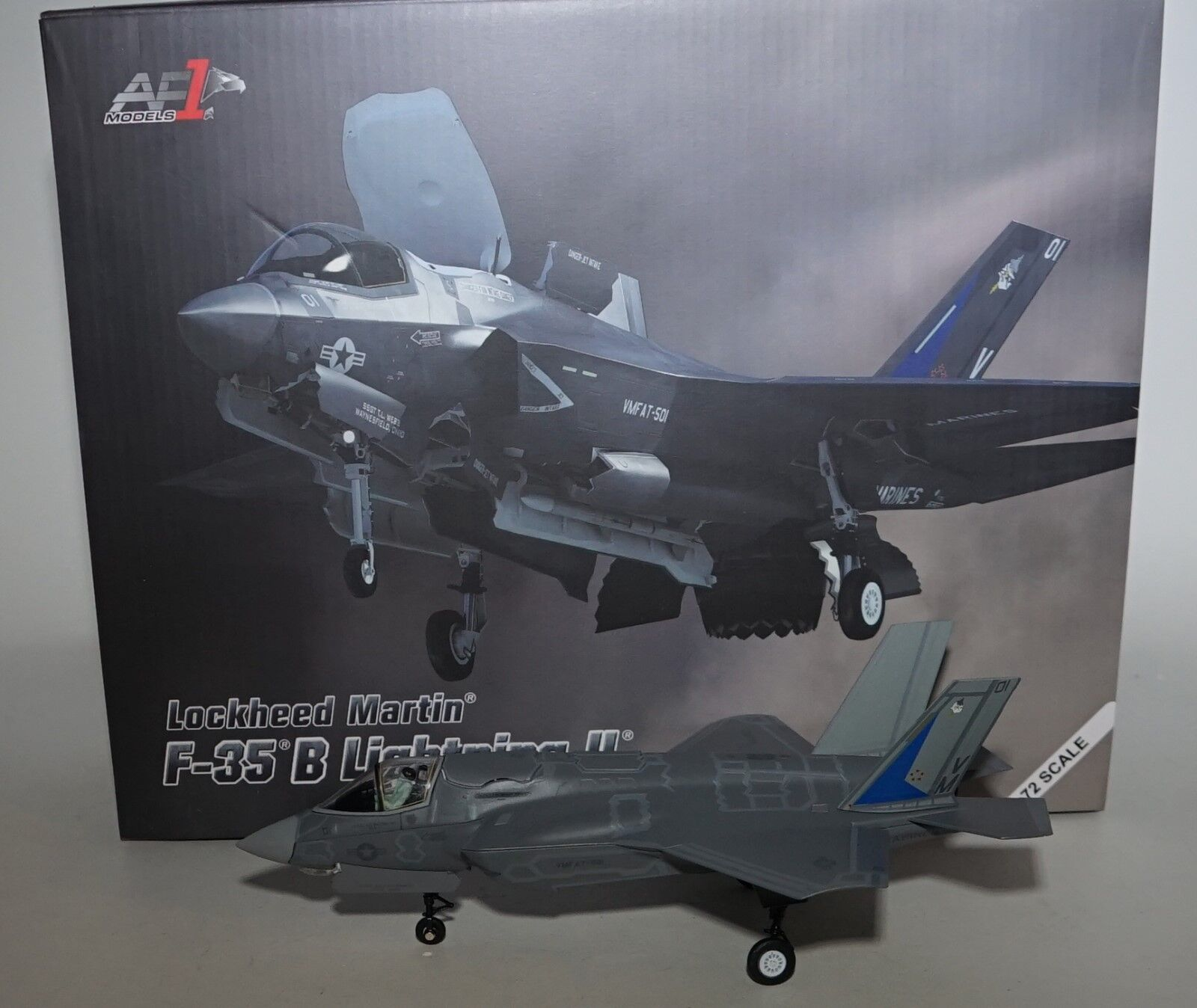 AF1 00009 Schließkopf Martin F-35B Blitz II USMC ,vmfat-501 USAF in 1 72 MAßSTAB
