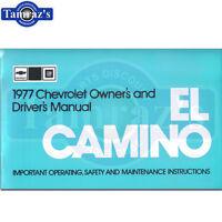 1977 El Camino Owners Manual