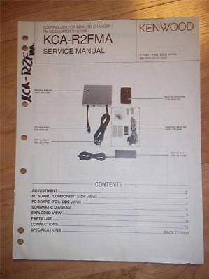 Kenwood Service Manual~KCA-R20 CD Changer Controller~Original Repair Manual