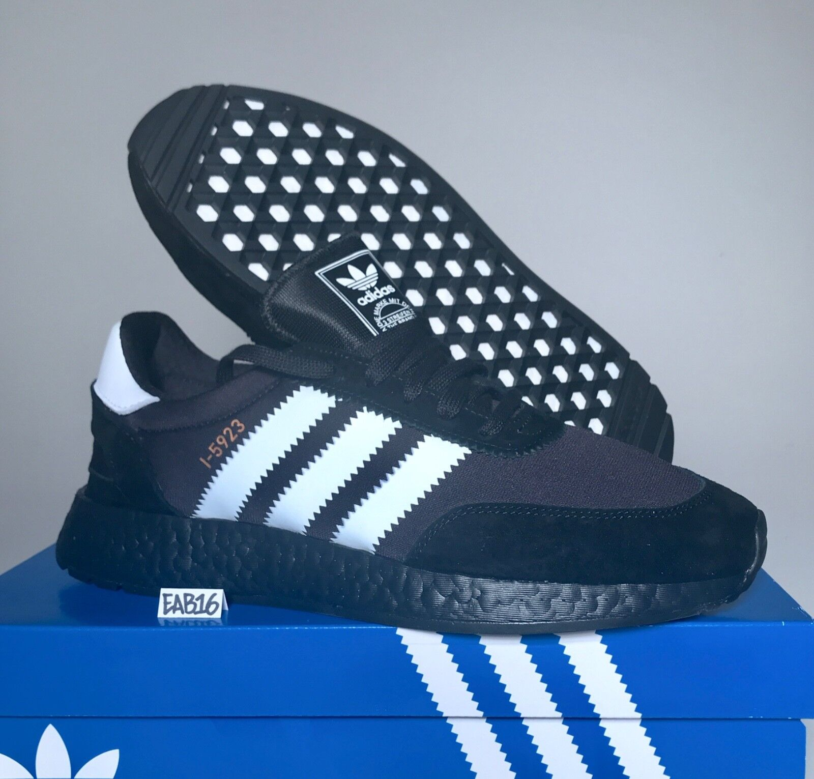 Adidas Iniki Runner I-5923 Triple Core Black Boost and Running White Comfortable Special limited time