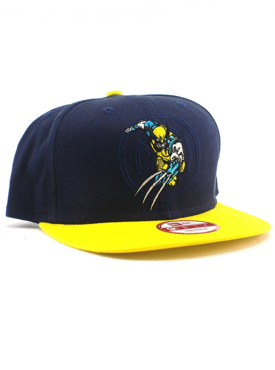 8675b81635d77 ... usa new era adjustable wolverine 9fifty snapback hat adjustable era cap  marvel comics logan x men ...