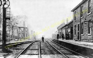 Elsecar /& Hoyland Wombwell West Railway Station Photo Barnsley Midland. 1