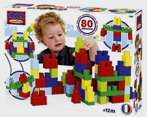 JEU DE CONSTRUCTION 80 BRIQUES ECOIFFIER DES 12 MOIS