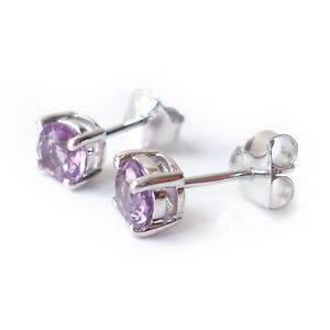5mm-Amethyst-Gemstone-925-Sterling-Silver-Stud-Earrings-February-Birthstone-Gift