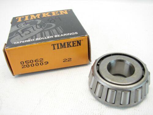 "T86 NEW Timken 05062 Taperd Roller Bearing Cone 5//8/"" Bore"