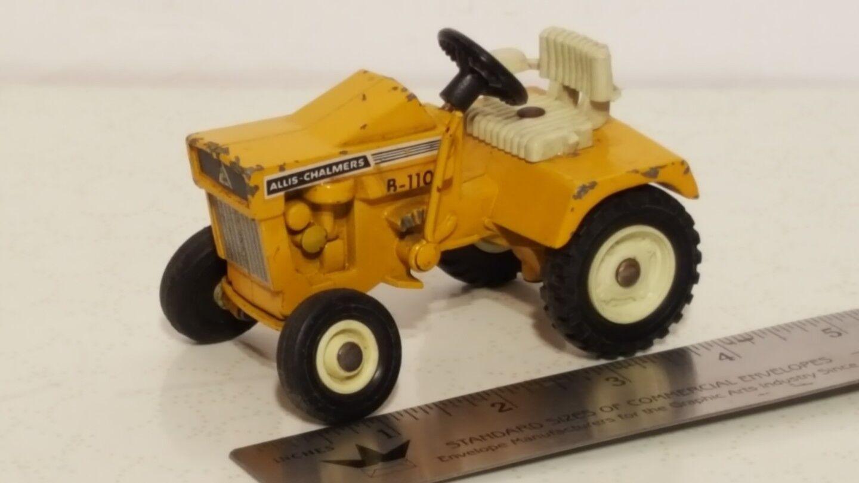 Ertl Allis Chalmers B-110 1 16 diecast metal lawn tractor replica collectible