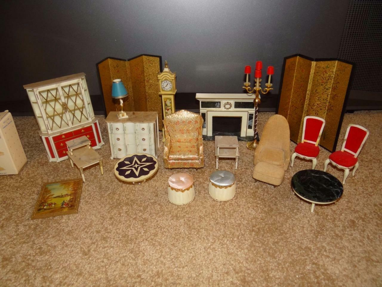 LOT DOLL FURNITURE IDEAL PETITE PRINCESS SOME NRFB LOOK