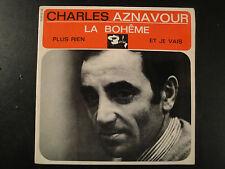 Vinyle 45 Tours - Charles Aznavour