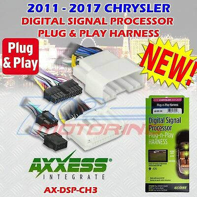 AX-DSP-CH3 AXXESS METRA Chrysler 2011-2014 Plug-n-Play T-harness for AX-DSP