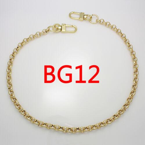 BG12 Sac à main chaîne en métal Bracelet de remplacement or Bandoulière Sangle D/'épaule Sac à main