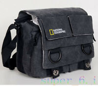 Canvas Camera Case Bag For Canon DSLR EOS Rebel T5 T5i T4i T3 T3i T2i 6D 650D 5D