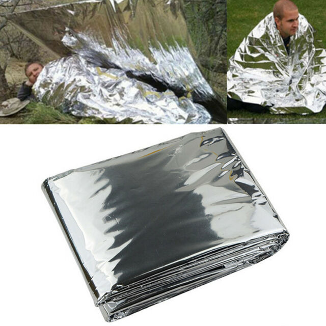 Folding Outdoor Emergency Tent/Blanket/Sleeping Bag Survival Camping Shelter