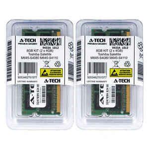 8gb-Kit-2-x-4gb-Toshiba-Satellite-m645-s4080-m645-s4110-m645-s4112-RAM-Speicher