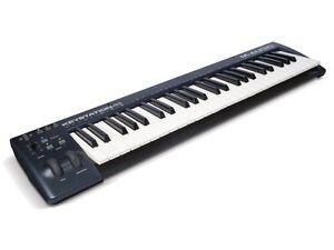 M-Audio-Keystation-49-Key-USB-MIDI-Keyboard-Controller-with-Pitch-Bend-New