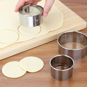 5pcs-Set-Stainless-Steel-Round-Circles-Cookie-Dessert-Fruit-Cutter-Mould-Party