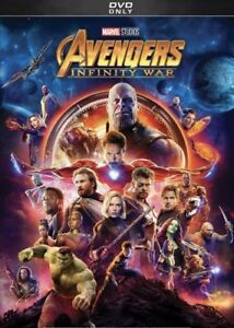 Avengers: Infinity War (DVD, 2018)