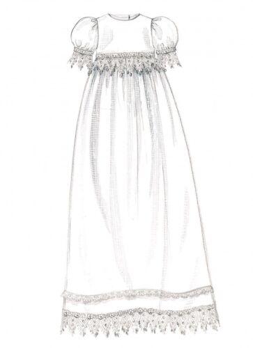 ANGE /& Bonnets Mccalls Baby sewing pattern 6221 Robe de baptême Mcc...