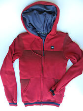 DVS Men's Zip-Up Quilted Hoodie - Red - XS - NWT - Reg $120