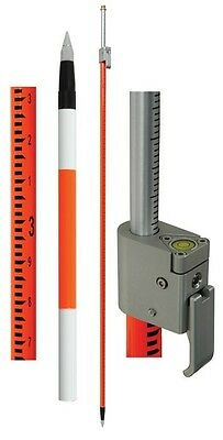 Seco Geodimeter Style Telescoping Prism Pole Pole w/Site Rod, ft 5120-02-FOR-GT