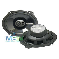 """ROCKFORD FOSGATE® P1683 6""""x8"""" 3-Way CAR STEREO PUNCH COAXIAL SPEAKERS 6x8 P-1683"""